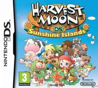 Portada oficial de Harvest Moon: Islas del Sol para NDS