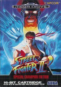Portada oficial de Street Fighter II': Champion Edition CV para Wii