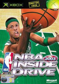Portada oficial de NBA Inside Drive 2003 para Xbox