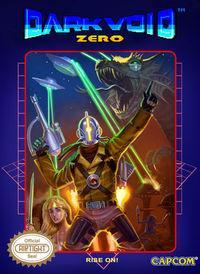 Portada oficial de Dark Void Zero DSiW para NDS