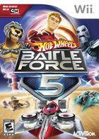 Portada oficial de de Hot Wheels: Battle Force 5 para Wii