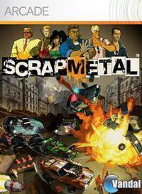 Portada oficial de Scrap Metal XBLA para Xbox 360