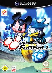 Portada oficial de Disney Sports: Football para GameCube