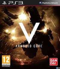 Portada oficial de Armored Core V para PS3