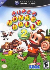Portada oficial de Super Monkey Ball 2 para GameCube