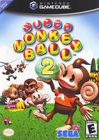 Portada oficial de de Super Monkey Ball 2 para GameCube
