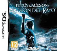 Portada oficial de Percy Jackson y El Ladrón del Rayo para NDS