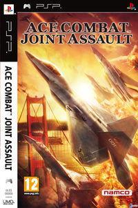 Portada oficial de Ace Combat: Joint Assault para PSP