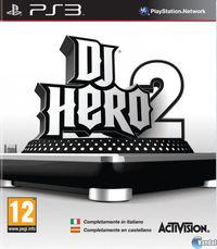 Portada oficial de DJ Hero 2 para PS3