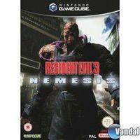Portada oficial de Resident Evil 3: Nemesis para GameCube
