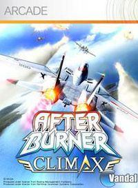 Portada oficial de After Burner Climax XBLA para Xbox 360