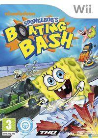 Portada oficial de Spongebob's Boating Bash para Wii