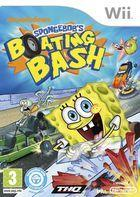 Portada oficial de de Spongebob's Boating Bash para Wii