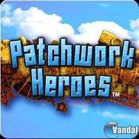 Portada oficial de Patchwork Heroes para PSP