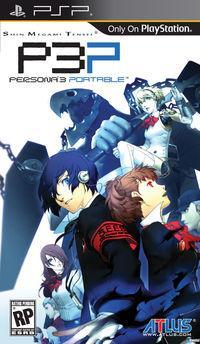 Portada oficial de Persona 3 Portable para PSP