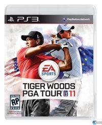 Portada oficial de Tiger Woods PGA Tour 11 para PS3