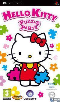Portada oficial de Hello Kitty Puzzle Party para PSP