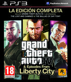 Portada oficial de de Grand Theft Auto IV: The Lost and the Damned para PS3