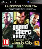 Portada oficial de de Grand Theft Auto IV: The Ballad of Gay Tony para PS3