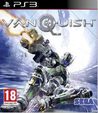 Portada oficial de Vanquish para PS3