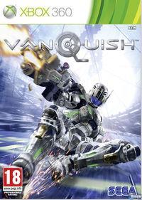 Portada oficial de Vanquish para Xbox 360