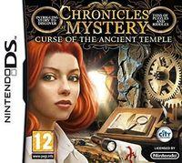 Portada oficial de Chronicles of Mystery: Curse of the Ancient Temple para NDS