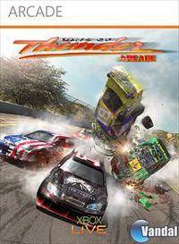 Portada oficial de Days of Thunder: Arcade XBLA para Xbox 360