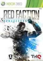 Portada oficial de de Red Faction: Armageddon para Xbox 360