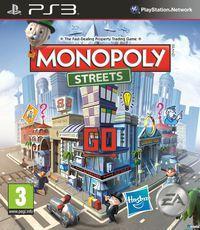 Portada oficial de Monopoly Streets para PS3