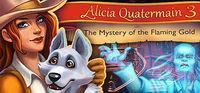 Portada oficial de Alicia Quatermain 3: The Mystery of the Flaming Gold para PC