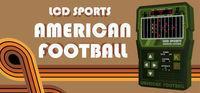 Portada oficial de LCD Sports: American Football para PC
