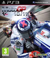 Portada oficial de MotoGP 10/11 para PS3
