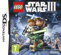 Portada oficial de LEGO Star Wars III: The Clone Wars para NDS