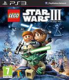 Portada oficial de de LEGO Star Wars III: The Clone Wars para PS3