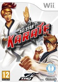 Portada oficial de All Star Karate para Wii