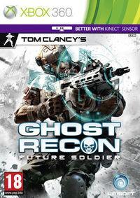 Portada oficial de Ghost Recon: Future Soldier para Xbox 360
