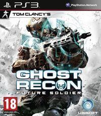 Portada oficial de Ghost Recon: Future Soldier para PS3