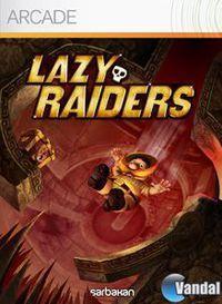 Portada oficial de Lazy Raiders XBLA para Xbox 360