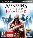 Portada oficial de de Assassin's Creed: La Hermandad para PS3