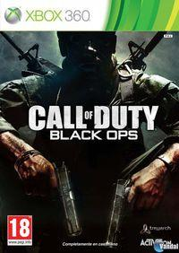 Portada oficial de Call of Duty: Black Ops para Xbox 360