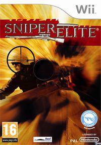 Portada oficial de Sniper Elite para Wii