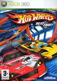 Portada oficial de Hot Wheels Beat That para Xbox 360