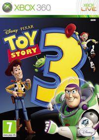 Portada oficial de Toy Story 3 para Xbox 360