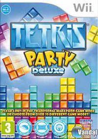 Portada oficial de Tetris Party Deluxe para Wii