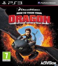 Portada oficial de Cómo entrenar a tu dragon para PS3