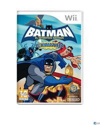 Portada oficial de Batman: El Intrépido Batman para Wii