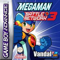 Portada oficial de Megaman Battle Network 3 Blue & White para Game Boy Advance