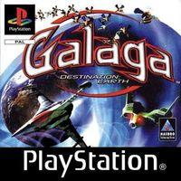 Portada oficial de Galaga: Destination Earth para PS One