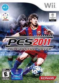 Portada oficial de Pro Evolution Soccer 2011 para Wii