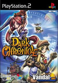 Portada oficial de Dark Chronicle para PS2